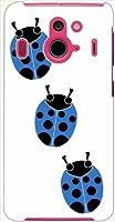 ohama F-03F Disney Mobile on ディズニーモバイル ハードケース t078_d テントウムシ てんとう虫 C スマホ ケース スマートフォン カバー カスタム ジャケット docomo