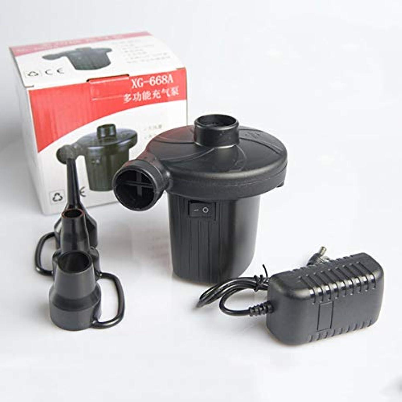リーチ土砂降りBlackfell AC電気エアーポンプの家の膨脹は100V | 240V / 12V家庭用電化製品の小さい耐久のエアーポンプのために適したのために収縮します