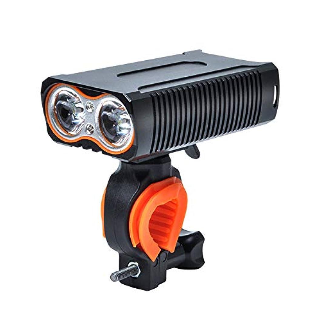コンピューターすり減るれんがGZLMMY 自転車ライト led ヘッドライト 防水 usb充電 cree t6 高輝度 2000ルーメン 5200mah大容量電池 防災 バイク フロントライト 明るい 懐中電灯