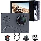 MUSON(ムソン) MAX1 アクションカメラ 4K高画質 40M防水 EIS手ぶれ補正 WiFi搭載 SONYセンサ…