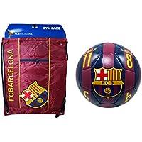FC バルセロナ 公式ライセンスサッカーボール&シンチバッグコンボ - 02