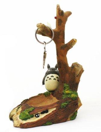 鍵かけ【木陰のトトロ】ジブリの代表作となりのトトロ♪ジブリインテリア雑貨コレクション♪ ジブリがいっぱい!