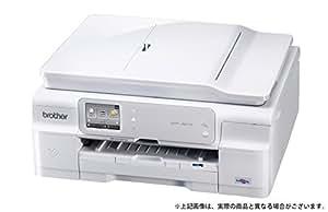 brother A4インクジェットプリンター複合機/白モデル/10/12ipm/両面印刷/有線・無線LAN/ADF DCP-J957N-ECO-W