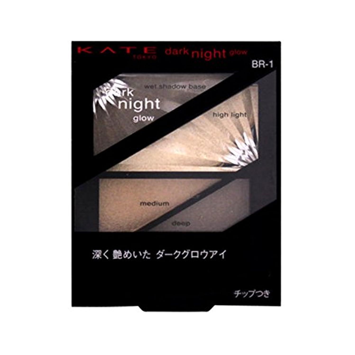 鑑定火山学者変化カネボウ ケイト ダークナイトグロウ BR-1