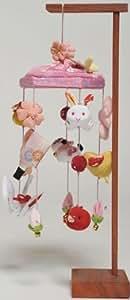 つるし雛 鶴と兎:卓上タイプ