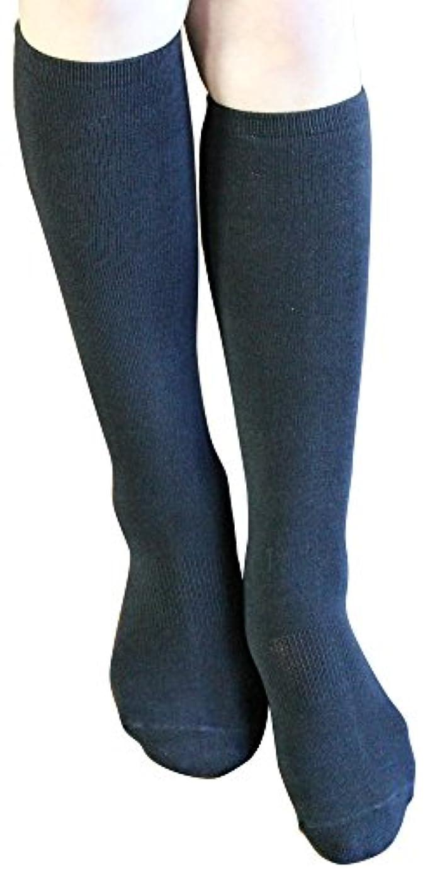 火山のホイールペレット歩くぬか袋 米ぬかシリコンハイソックス 23-25cm ブラック