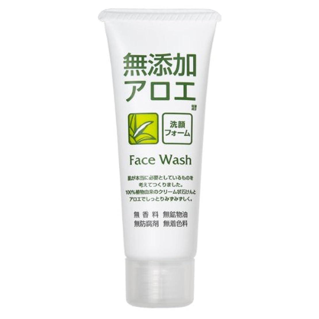 努力する砂利レガシーロゼット 無添加アロエ 洗顔フォーム 140g