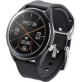 ASUSTek VivoWatch SP スマートウォッチ (HC-A05) ブラック iphone Android 活動量計 心拍数、体調指数、血中酸素飽和度、睡眠 ストレス解消指数 GPS 10日間連続稼働 日本国内一年保証 53.5× 46.5