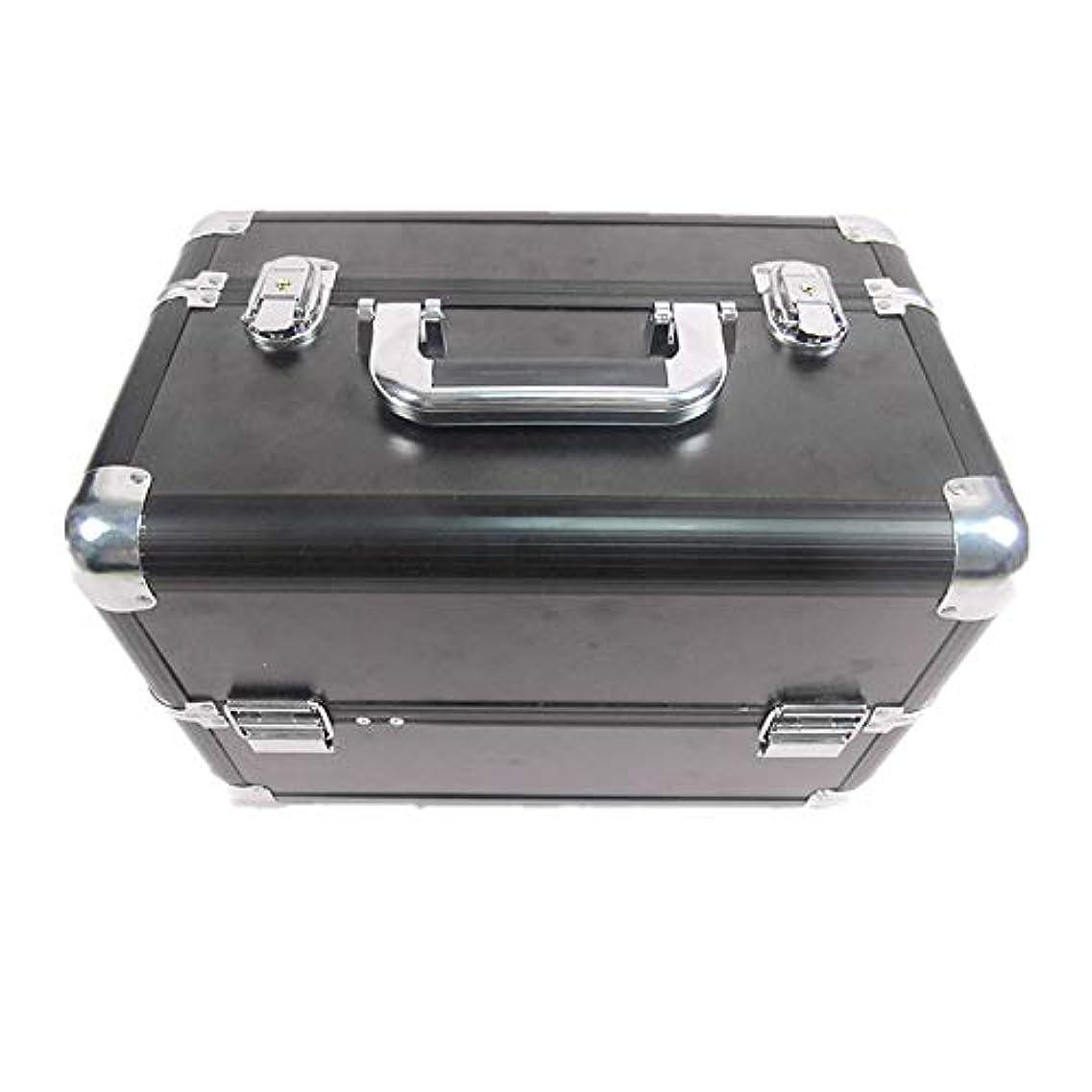 どちらか熟考する比較化粧オーガナイザーバッグ 大容量ポータブル化粧ケース(トラベルアクセサリー用)シャンプーボディウォッシュパーソナルアイテム収納トレイ(エクステンショントレイ付) 化粧品ケース