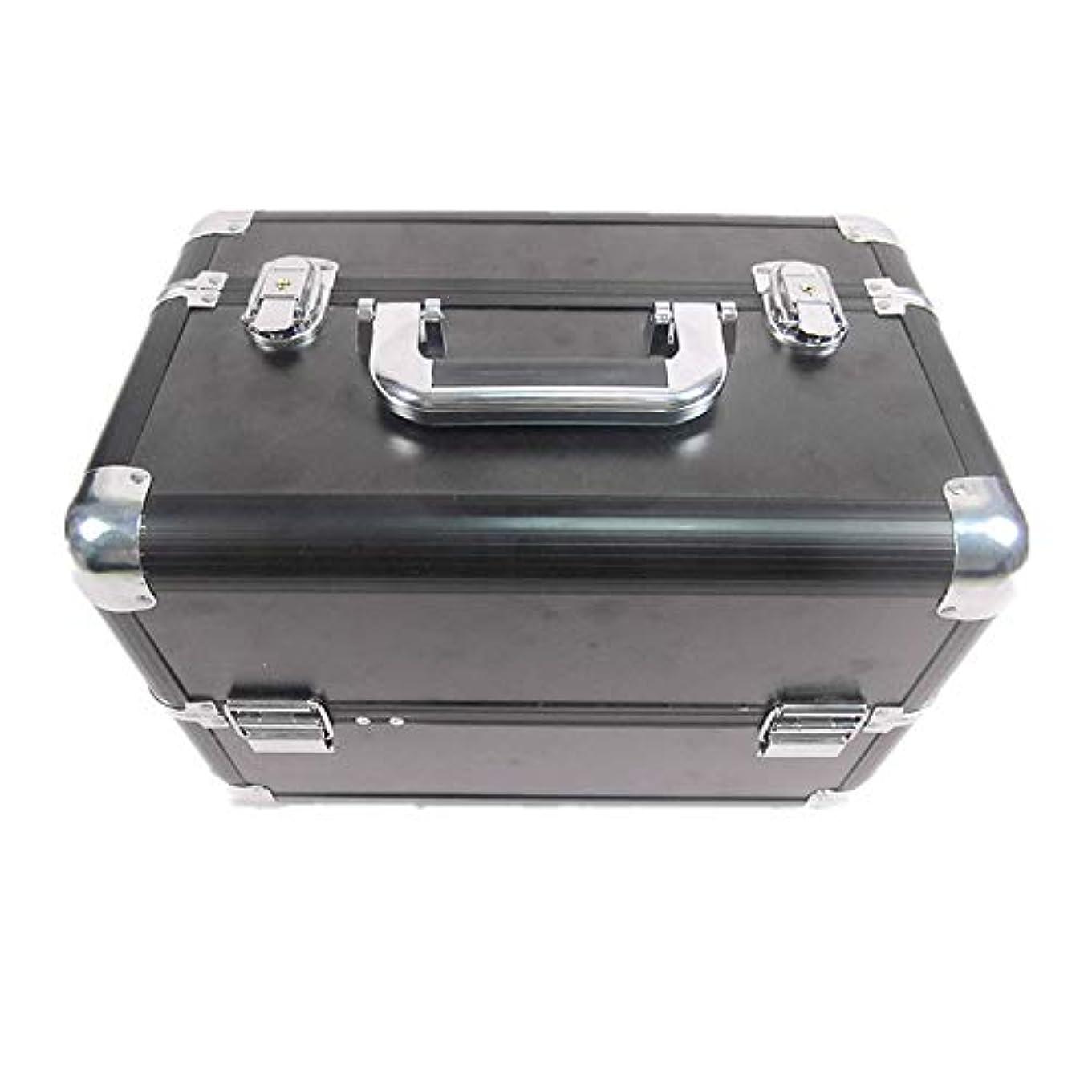 公式アマチュア時刻表化粧オーガナイザーバッグ 大容量ポータブル化粧ケース(トラベルアクセサリー用)シャンプーボディウォッシュパーソナルアイテム収納トレイ(エクステンショントレイ付) 化粧品ケース