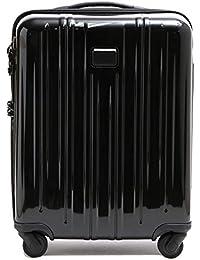 [トゥミ] TUMI キャリーケース 4輪 スーツケース 228007 D インターナショナル スリム キャリーオン 37L 機内持ち込み可 TSA付き 軽量 INTL SLIM CARRY-ON BLACK ブラック