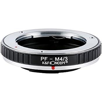 K&F Concept レンズマウントアダプター KF-PFM43 (オリンパス・ペンFマウントレンズ → マイクロフォーサーズマウント変換)