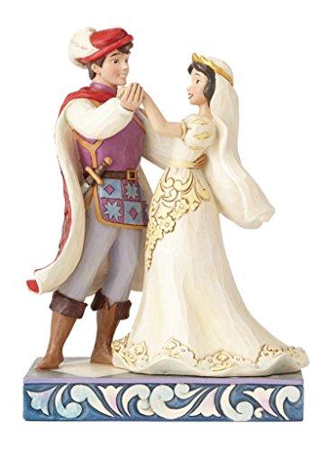 ディズニー・トラディションズ/ 白雪姫 スノーホワイト: 白雪姫&プリンス ロイヤルウェディング スタチュー