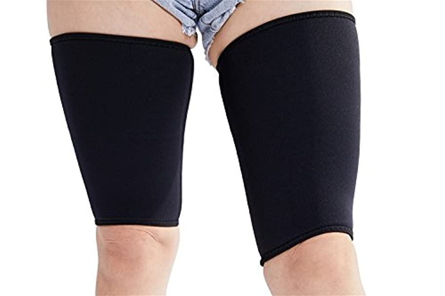 トラフゴム表面的なvinmin Valentinaホット熱女性男性超薄型伸縮性通気性Thigh Slimming圧縮ネオプレン脚シェイパーの重量損失