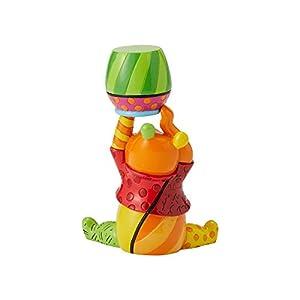 Enesco くまのプーさん ディズニー製 Britto Line Figurine 3.66インチ マルチカラー