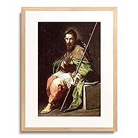 Cano, Alonso,1601-1667 「Der hl.Jakob d.A. 1636/1638.」 額装アート作品