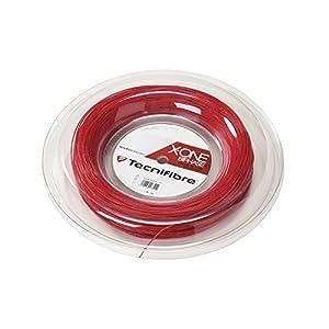 テクニファイバー(Tecnifibre) スカッシュ用ストリング、ゲージ1.18mm 200m X-ONE RED 1.18 TF 118R レッド 200m
