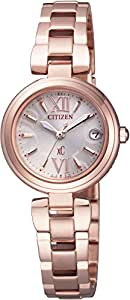 [シチズン]CITIZEN 腕時計 xC クロスシー MINISOLシリーズ シンプルアジャスト付 Eco-Drive電波 エコ・ドライブ電波 ES8132-58A レディース