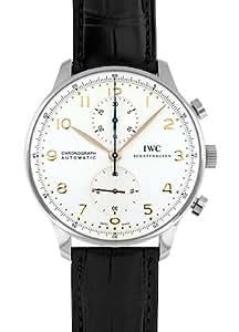 [アイダブリューシー]IWC 腕時計 IW371445 ポルトギーゼ クロノグラフ SS 白文字盤/RG針 自動巻 レザー メンズ [並行輸入品]