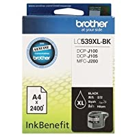 Brother LC539XL-BK Black Ink Cartridge 1pc by OriginalFromThailand
