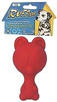 JW Pet Company Ruffians Bear Dog Toy, Medium (Colors Vary) by JW Pet