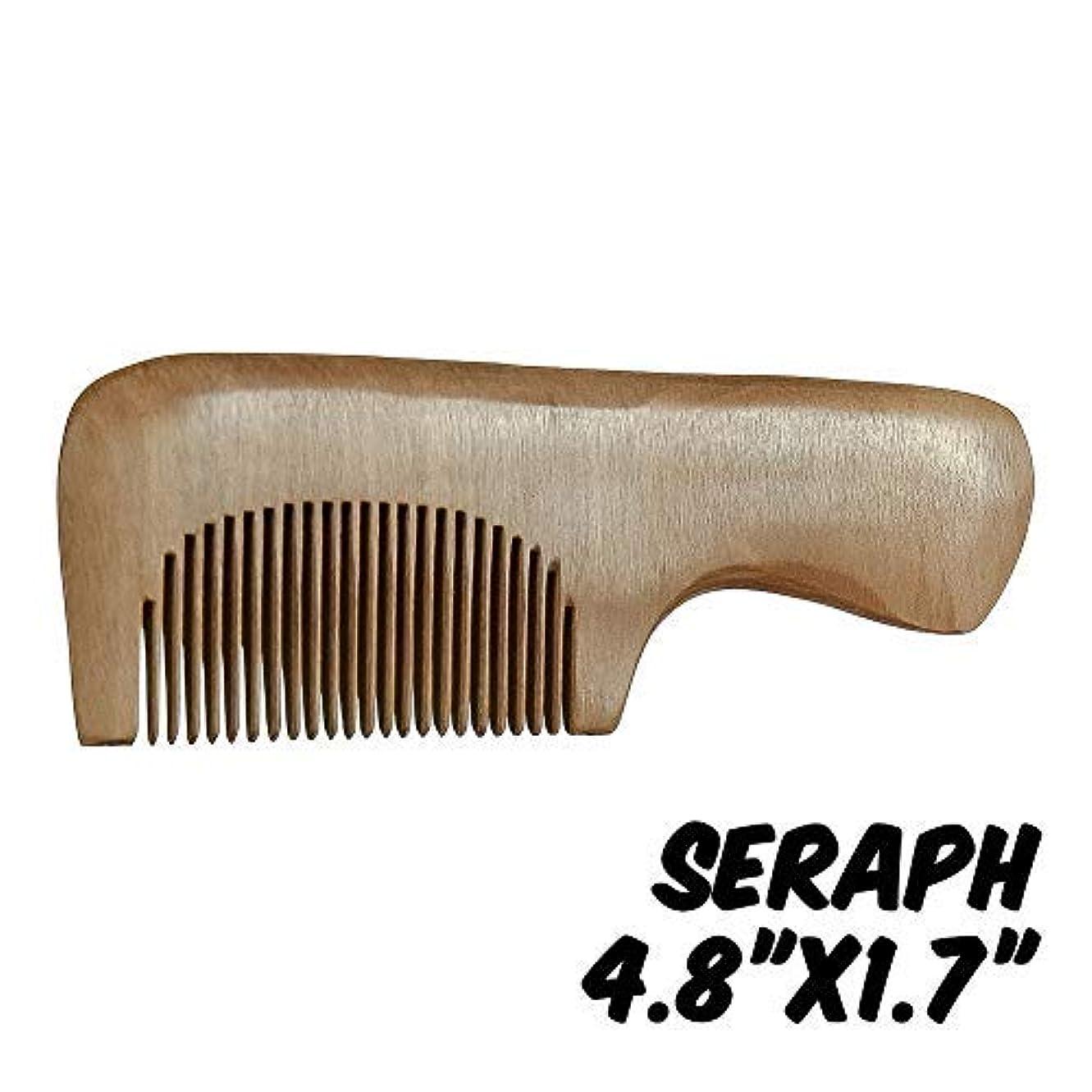 虚偽表面的な正当なMarkin Arts Seraph Series Handmade Natural Organic Indian Lilac Wood Anti-Static Hypoallergenic Pocket Handle...