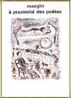 ポスター マルク シャガール A Proximite Des Poetes 1986 額装品 アルミ製ベーシックフレーム(ゴールド)