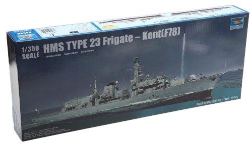 トランペッター 1/350 イギリス海軍 23型フリゲート HMS ケント F78