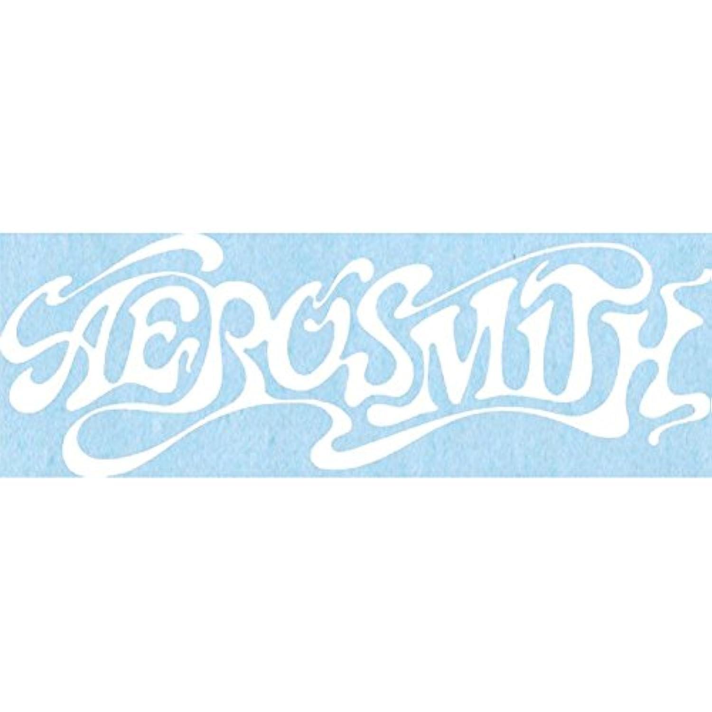CandD Visionary Aerosmith – 60のロゴrub-onステッカーホワイト