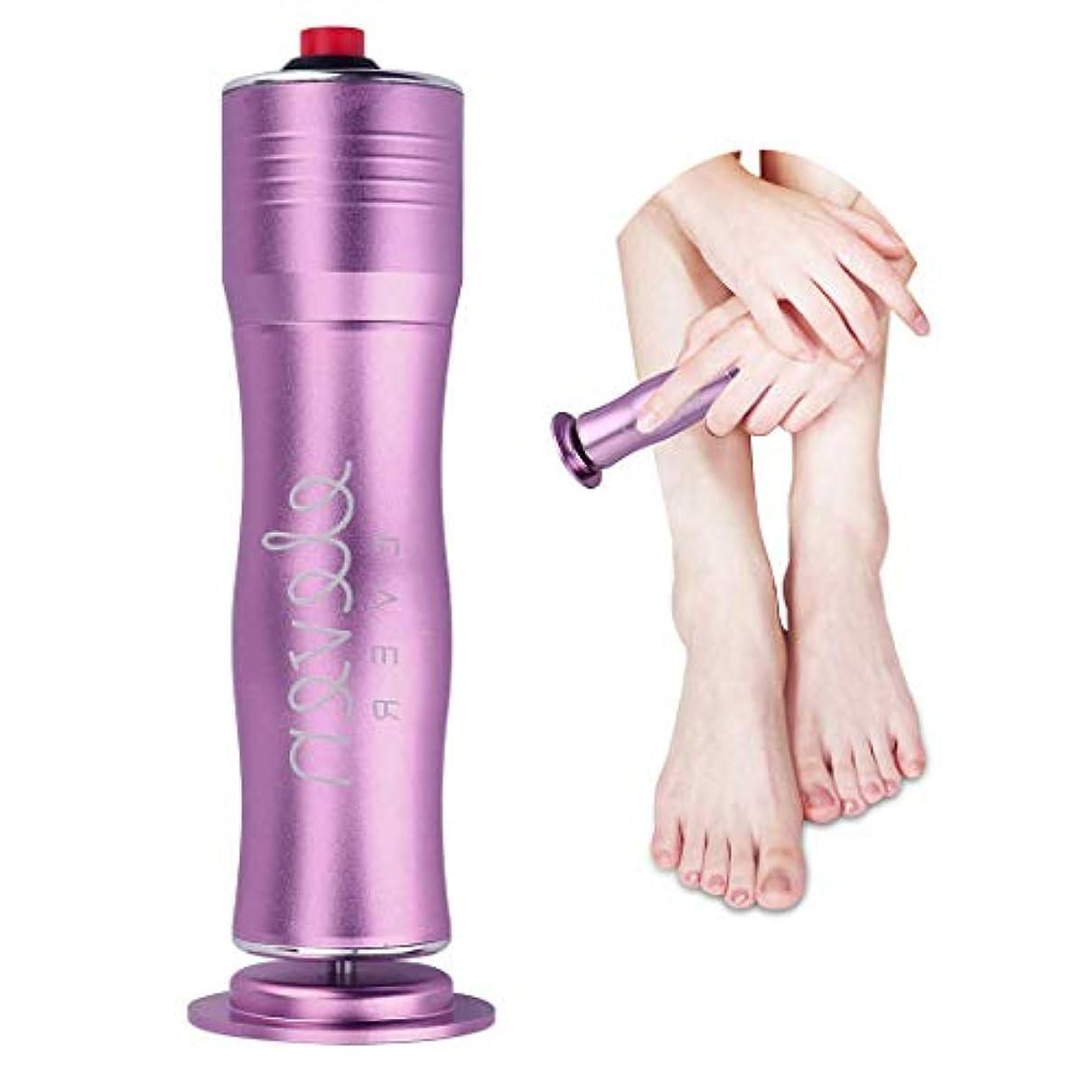 太字小切手知覚的電動角質リムーバー 角質取り スピーディに足の角質を除去可能 速度調節可能 清潔的 衛生的な足部ケア道具 磨足器 ペディキュアマシン 使い捨てのサンドペーパー付き 男女兼用