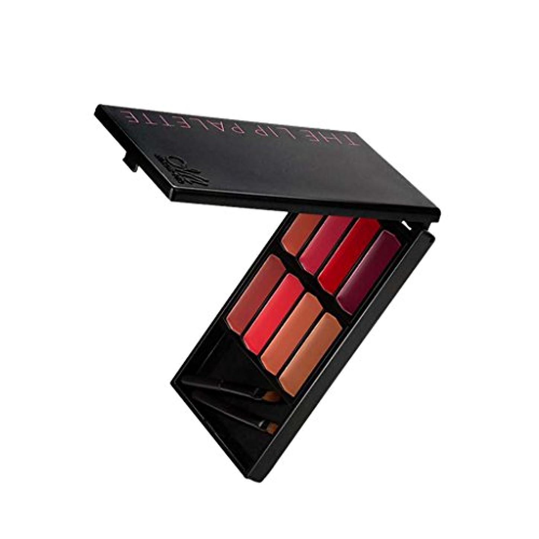 会う暴力予測Sharplace 8色入 メイクアップパレット 口紅 リップグロス 唇メイク カラーメイク 化粧鏡 ミラー メイクアップブラシ プレゼント - #2