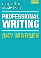 Professional Writing (Macmillan Study Skills)