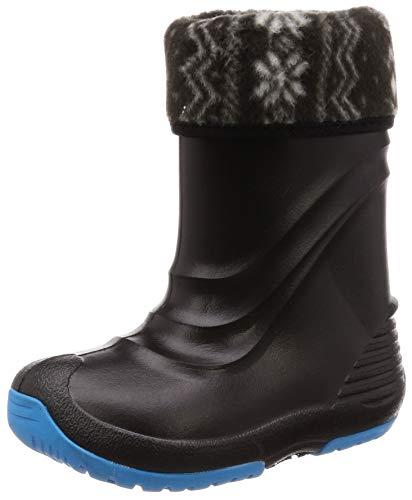 [ベアーフット] キッズ ジュニア ウインターブーツ EVA軽量 防寒 スノーシューズ ボーイズ ガールズ FB-40J