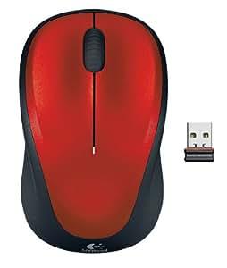 LOGICOOL ワイヤレスマウス M235 レッド M235RD
