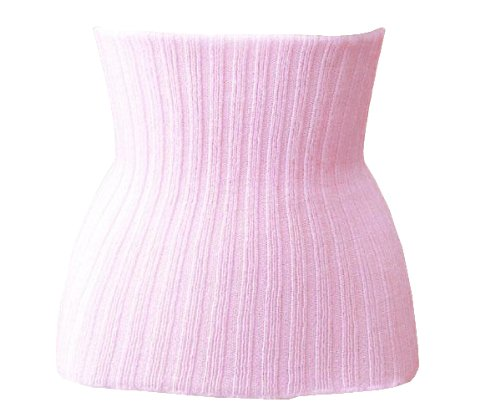 コベス ブーメロン 毛混リブ腹巻き L~LL×2個 1005 ピンク