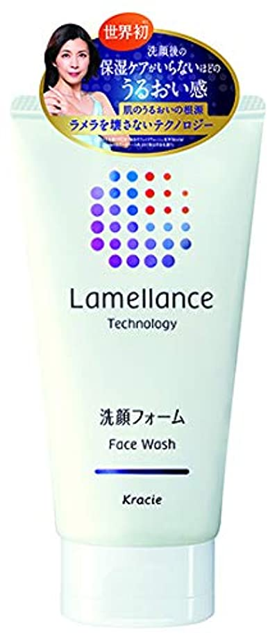 サスペンションスラムプラカードラメランス フェイスウォッシュ110g(透明感のあるホワイトフローラルの香り) 角質層のラメラを壊さずに洗えるフェイスウオッシュ