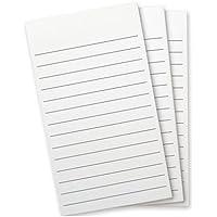 Flip Note (フリップノート) ペン付ノートパッド、リフィル、横罫ノートリフィル3冊1パック FN-2298 wellspring