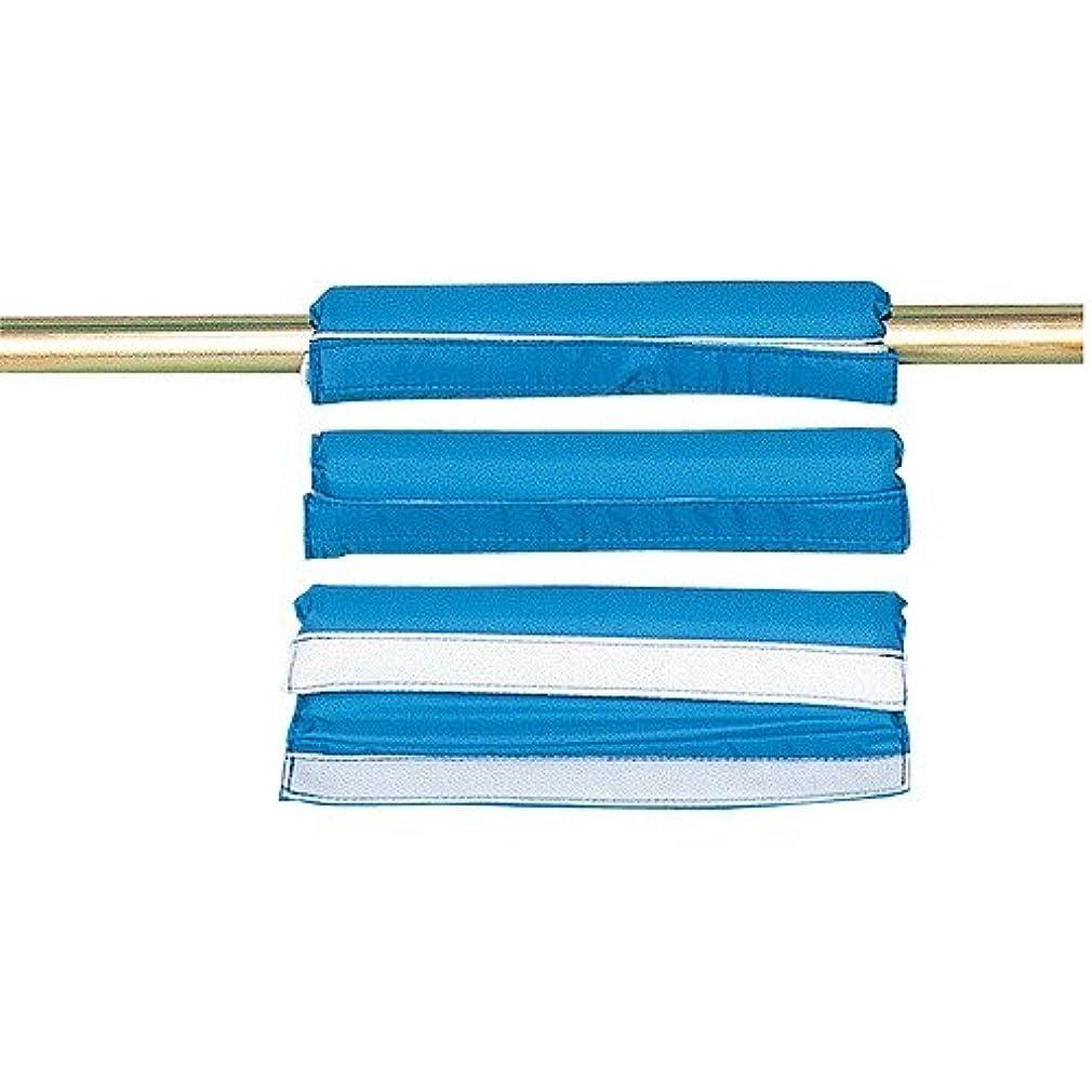 こねる腹部静的会龍企業 鉄棒サポートパット S 8個 ブルー