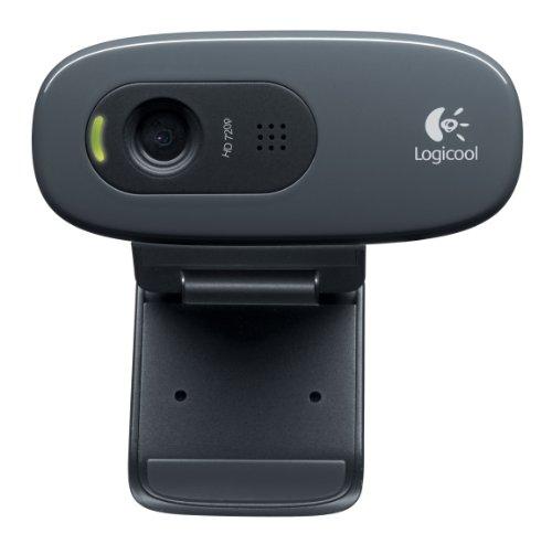 Logicool (ロジクール) ウェブカメラ C270 ブラック HD 720P ウェブカム ストリーミング 小型 シンプル設計 B003YUB660 1枚目