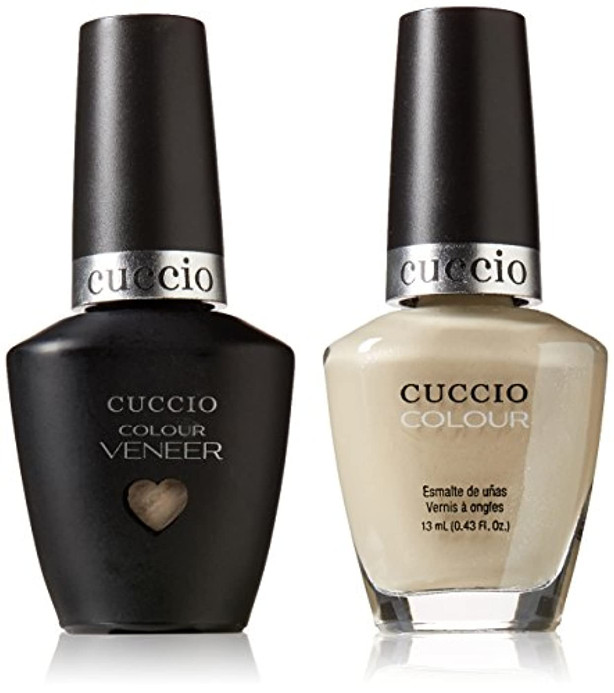 Cuccio MatchMakers Veneer & Lacquer - Oh Naturale - 0.43oz/13ml Each