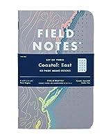 フィールドノートCoastal : East Special Edition RecitalグリッドMemo Books、(3.5X 5.5インチばね2018