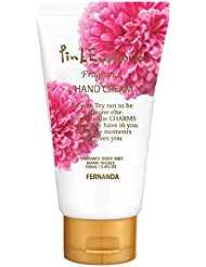 FERNANDA(フェルナンダ) Hand Cream Pink Euphoria 冬限定ホワイトシリーズ (ハンドクリーム ピンクエウフォリア)