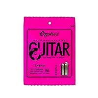 アコースティックギターの文字列は、耐久性に優れた六角コアブロンズ明るいトーンの文字列を設定します。