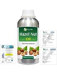 Hazel Nut (Corylus avellana) 100% Natural Pure Essential Oil 2000ml/67 fl.oz.