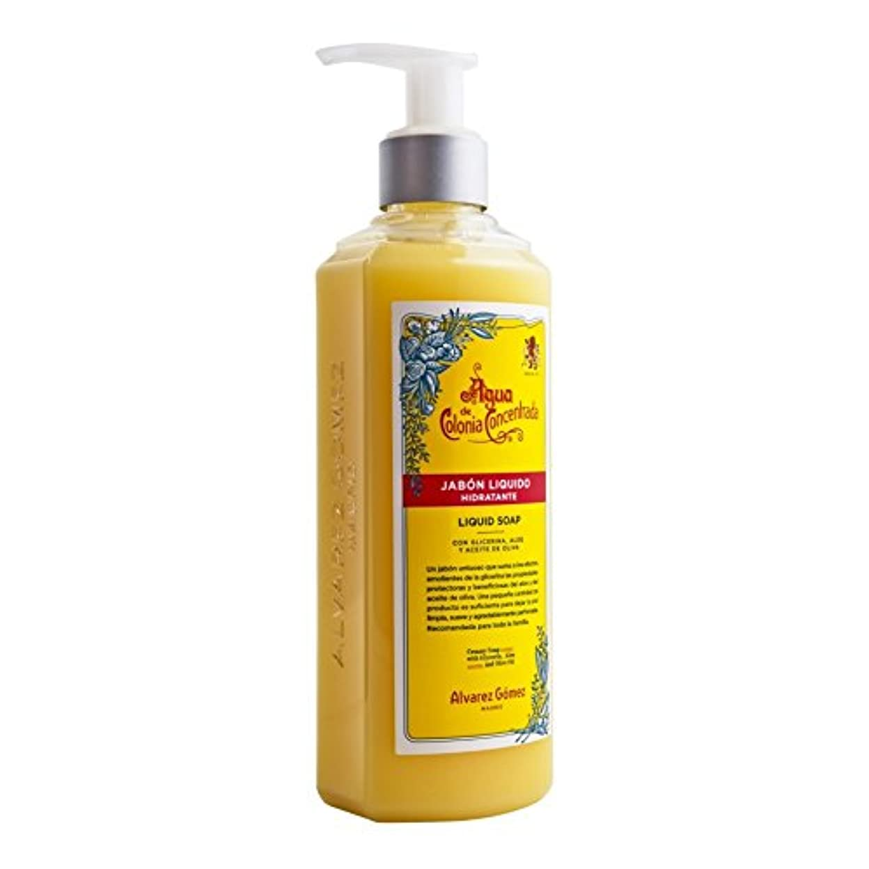 多年生あまりにも食事?lvarez G?mez Agua de Colonia Concentrada Liquid Soap 300ml - アルバレスゴメスアグアデコロニ液体石鹸300ミリリットル [並行輸入品]