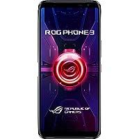 ASUS スマートフォン ROG Phone 3(12GB/512GB/Qualcomm Snapdragon 865 Plus/6.59型ワイド AMOLEDディスプレイ Corning Gorilla Glass 6/Android 10 (ROG UI)/ブラックグレア)【日本正規代理店品】ZS661KS-BK512R12/A