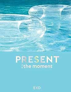 エクソ - PRESENT ; the moment 204p Photobook+2Photocard+Double Side Extra Photocards Set [KPOP MARKET特典: 追加特典両面フォトカードセット] [韓国盤]