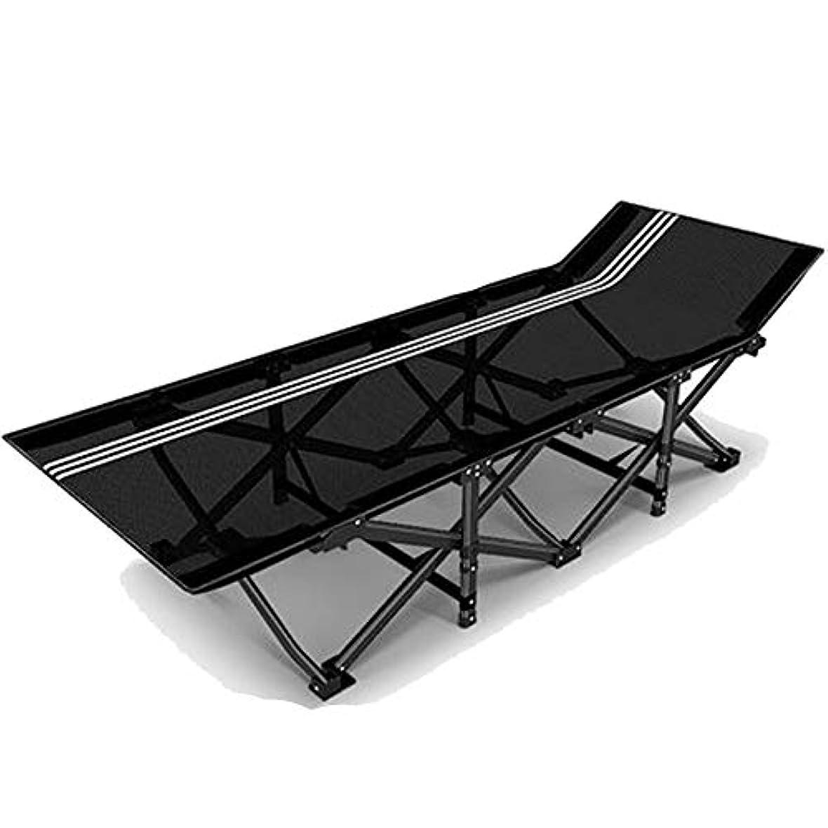 死傷者保証する苛性折りたたみベッド昼寝ベッドシングルベッド収容ベッドシンプルな屋外キャンプベッド便利な収納 (Size : A)