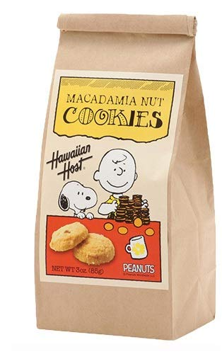 スヌーピー&チャーリーブラウン マカデミアナッツクッキーBAG(85g)×6個 ハワイのクッキー 輸入菓子 ハワイのマカダミアナッツクッキー ナッツクッキー スヌーピーのおかし