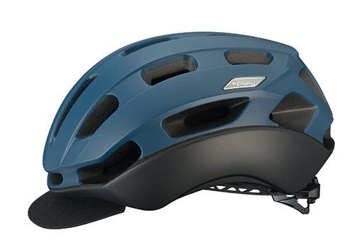 OGK KABUTO(オージーケーカブト) ヘルメット BC-Glosbe2 マットネイビー L/XL (頭囲:59cm-61cm)